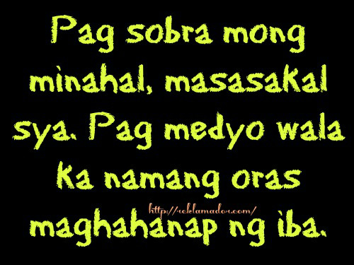 Tagalog Sad Love Quotes Collections