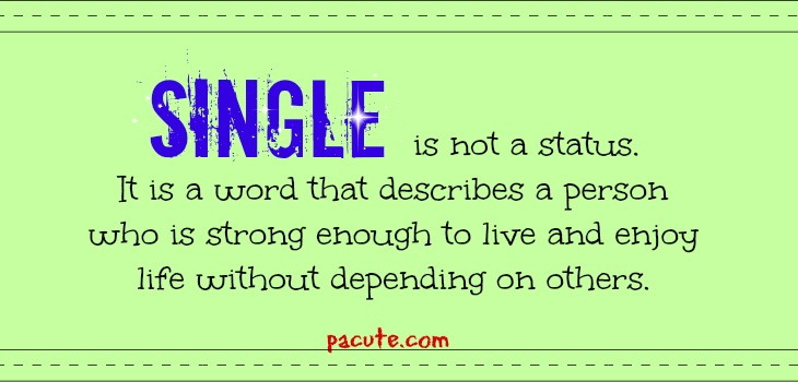 Single Love Quotes for Single People