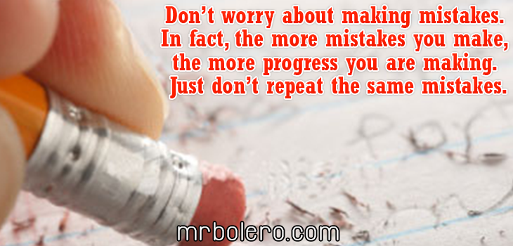 Mistake Ever Tried Failure Quotes