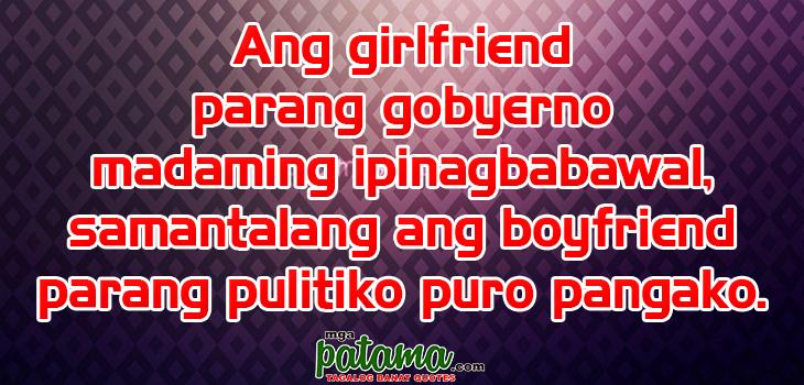 Pangako Sikreto Patama Tagalog Quotes