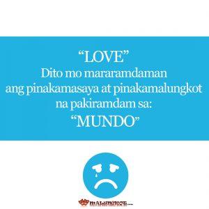 Sad Tagalog Love Qoutes