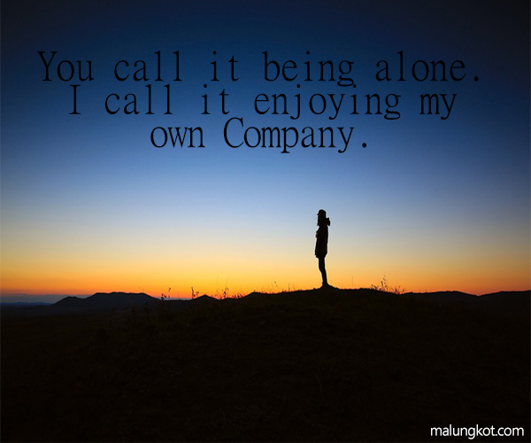 ALONE QUOTES AND SAYINGS 3