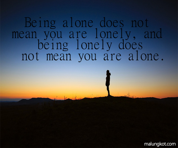 ALONE QUOTES AND SAYINGS 9