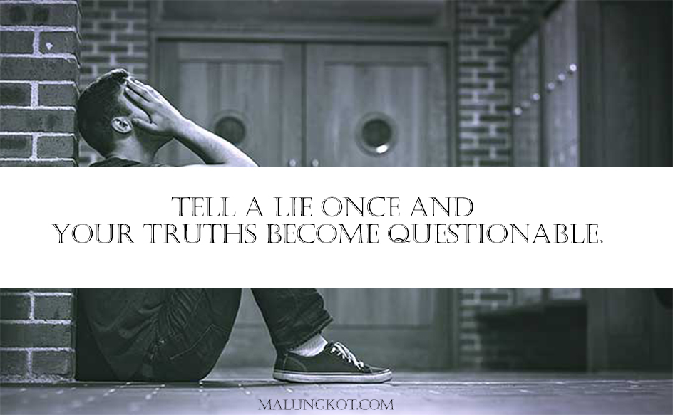 LIES QUOTES AND SAYINGS 6