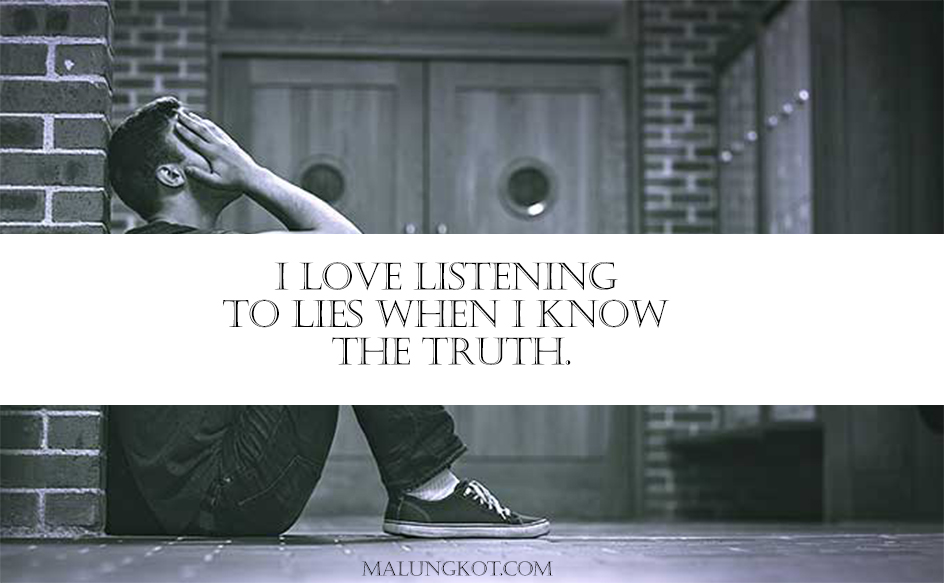 LIES QUOTES AND SAYINGS 7
