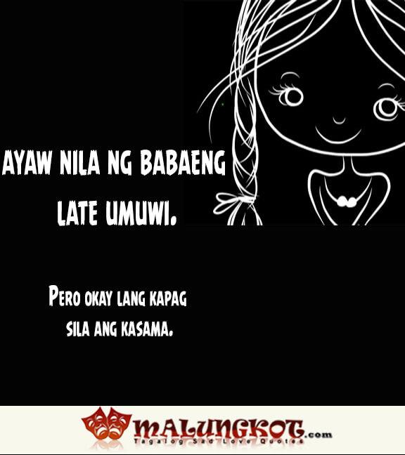 Mga ayaw ng mga lalaki at sagot ng mga babae 6