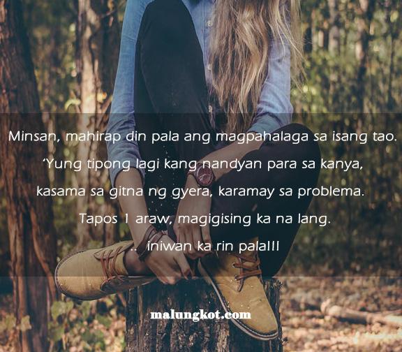 Bigo sa Pagibig Tagalog Quotes