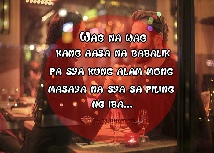 Tagalog Sad Love Hugot Quotes: Love Hurts
