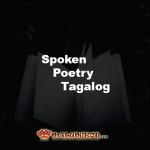 Spoken Poetry Tagalog Logo