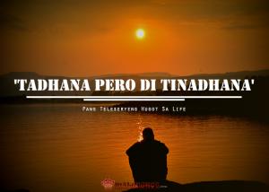 """""""Tadhana pero di Tinandhana' - Pang teleseryeng Hugot sa Life"""