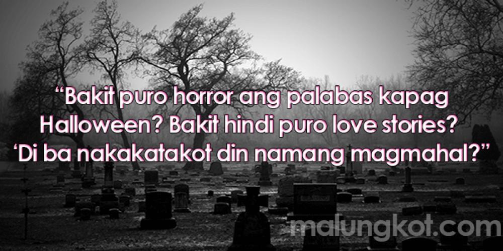 Tagalog Hugot Sa Halloween Lines