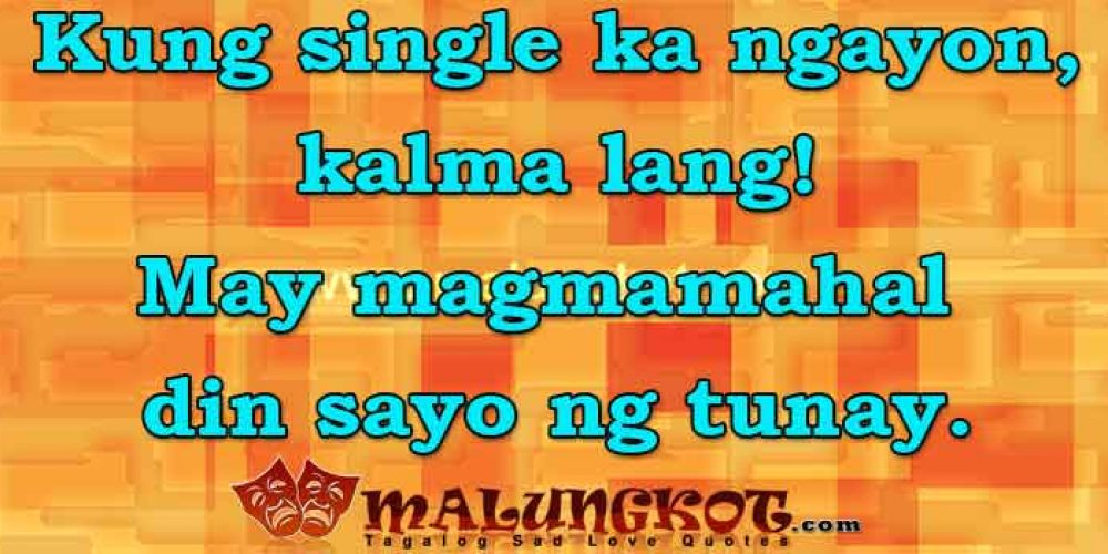 Tagalog Single Quotes