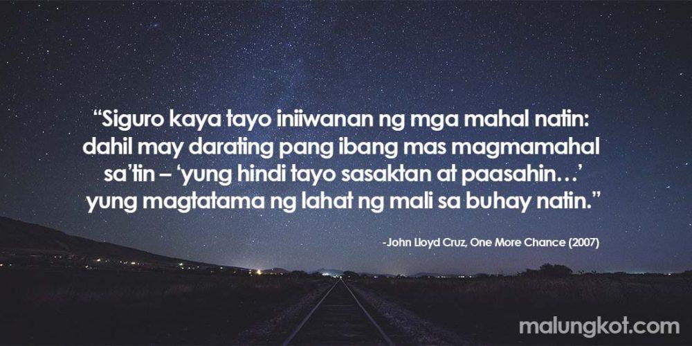 Tagalog Hugot Lines from Tagalog Movies