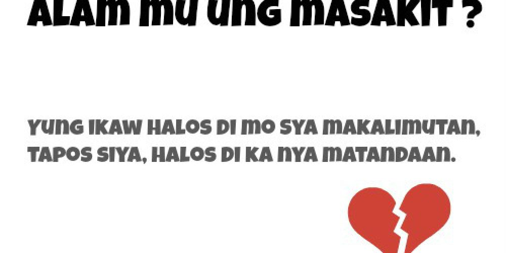Love Quotes Tagalog | Manhid Love Quotes | Tanga Love Quotes