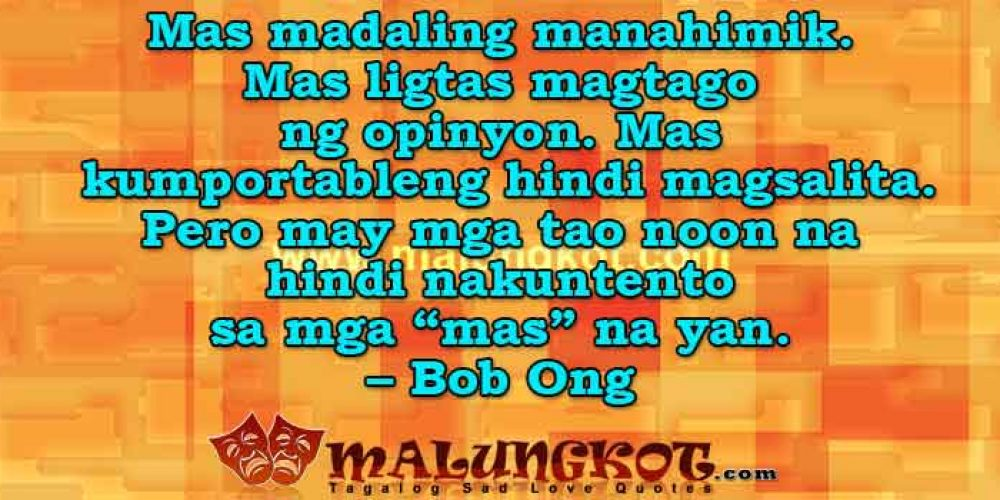 Bob Ong Quotes Collection