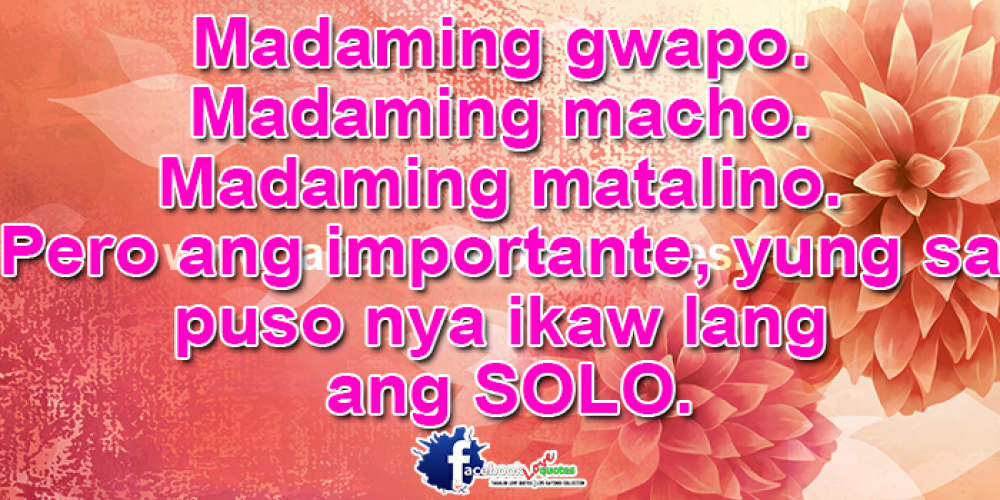 Best Tagalog Relationship Quotes