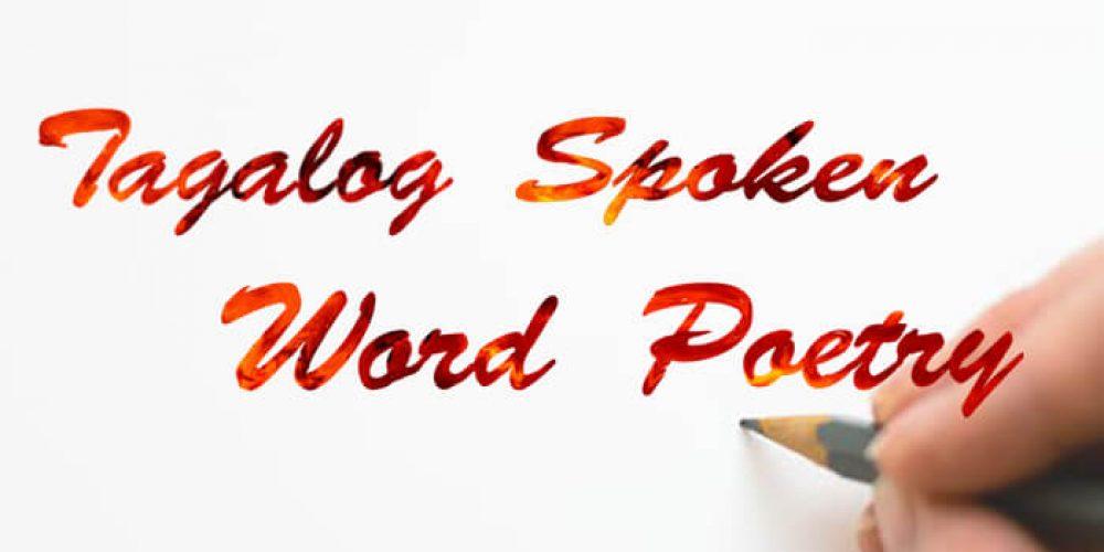 Tagalog Spoken Word Poetry
