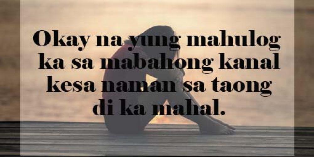 Sad Love Quotes Tagalog