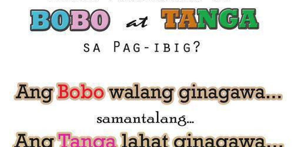Ano ang Pinagkaiba ng Bobo at Tanga sa Pag-ibig.