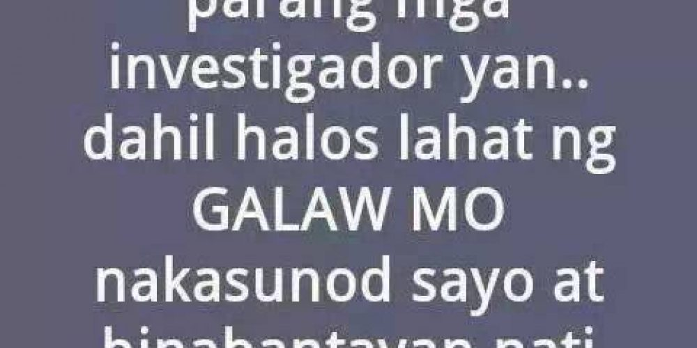 Mga Patama Quotes – Haters Quotes