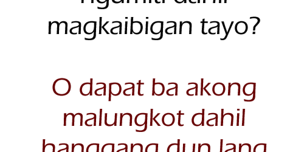 Ligaw Quotes – Courting Quotes Tagalog
