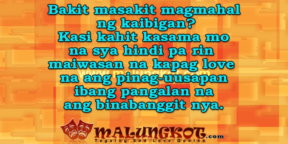 Tagalog Malungkot Love Quotes