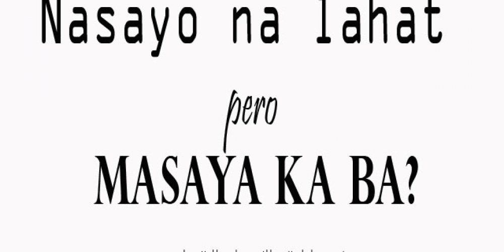 Sad Tagalog Quotes