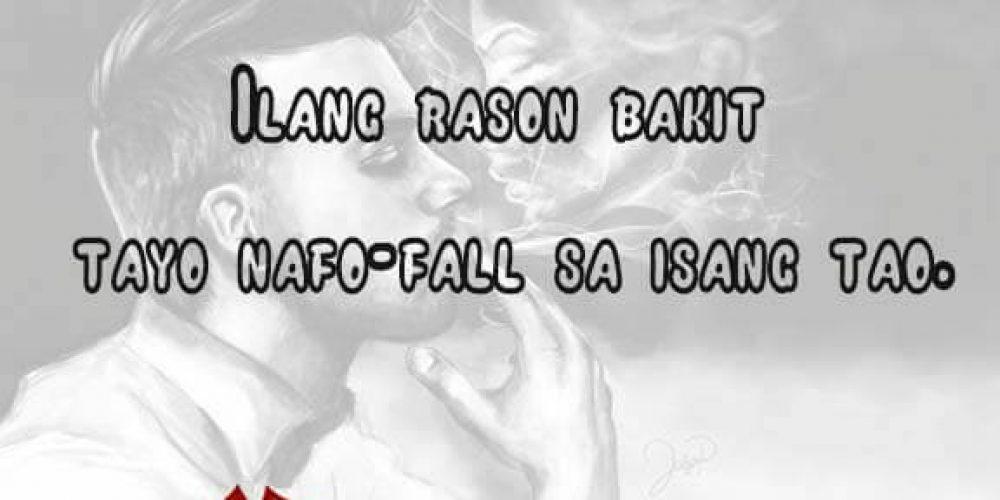 Reason kung bakit tayo na fa-fall