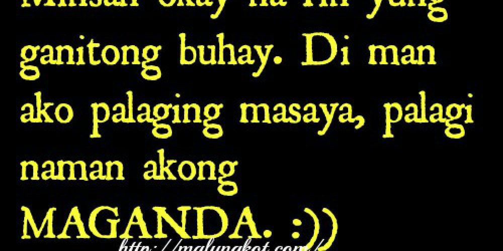 Maganda ako  Kowts | Cute Tagalog Quotes